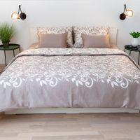 Floris bed linen – brown