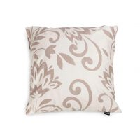 Decorative pillow Floris – brown