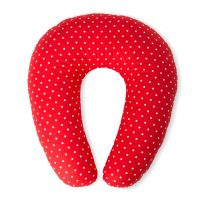 Pikapoka Baby nest pillow for breastfeeding – red