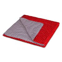 Pikapoka LIGHT Quilt - Red / Brown
