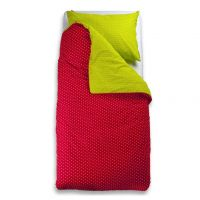 Bed linen PikaPoka - Red/Green