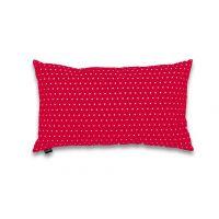 Pillow cover Pikapoka - red