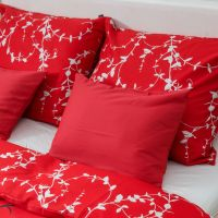 Savana bed linen – red