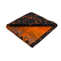 Decorative cover Savana – black