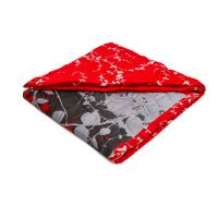 Decorative cover Savana – red
