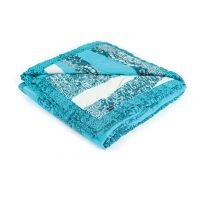 Decorative cover Allegra – turquoise