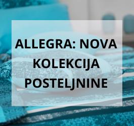 Allegra - nova kolekcija satenaste posteljnine