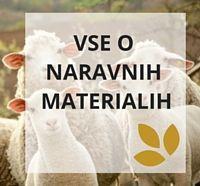 Abeceda naravnih materialov izdelkov