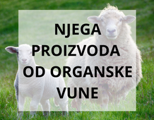 Njega proizvoda od organske vune