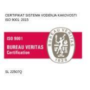 Odeja ISO 9001:2015