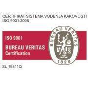 Odeja ISO 9001:2008