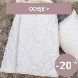 Odeje -20 %