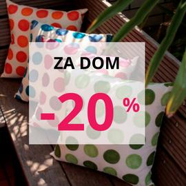 Izdelki za dom -20 %