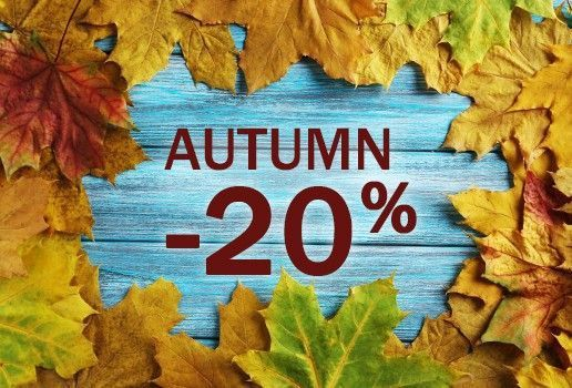 Autumn sale -20 %