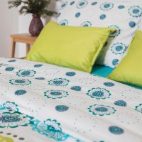 Fantasia bed linen – green