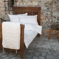 Bed linen Organic Tara with lace