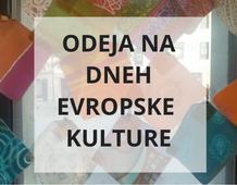 Odeja in Dnevi evropske kulture
