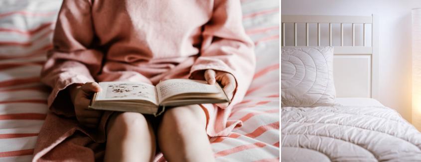 Vzglavnikov ne uporabljamo le med spanjem, ampak tudi med branjem.