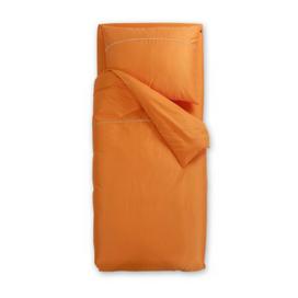 Oranžna satenasta posteljnina Odeja Basic