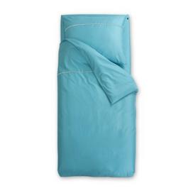 Turkizna satenasta posteljnina Odeja Basic
