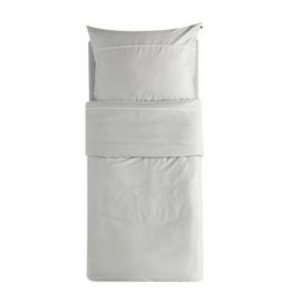 Srebrna satenasta posteljnina