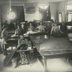Zgodovina podjetja Odeja