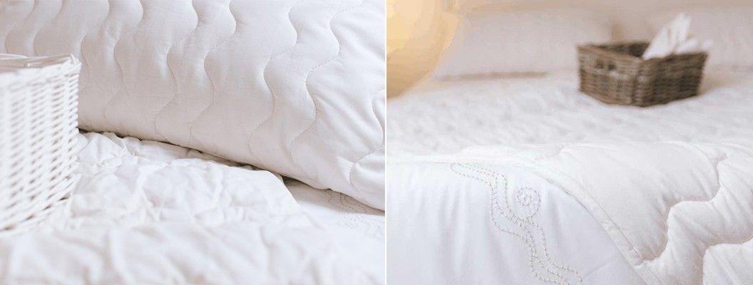 Odeje, vzglavnik in posteljnina Organic