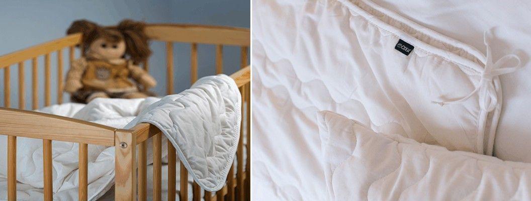 Odeje, vzglavnik in posteljnina Organic za otroke