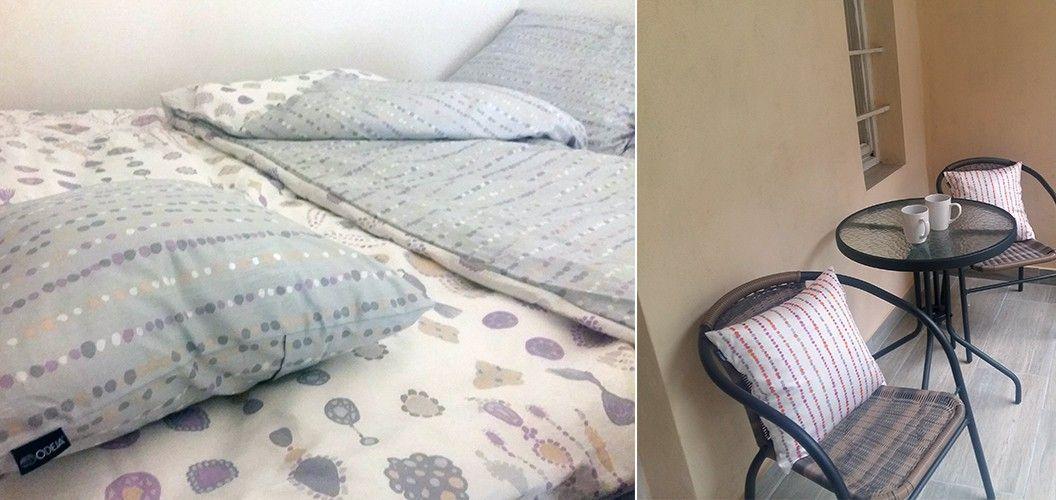 Okrasni vzglavniki in posteljnina Arabella