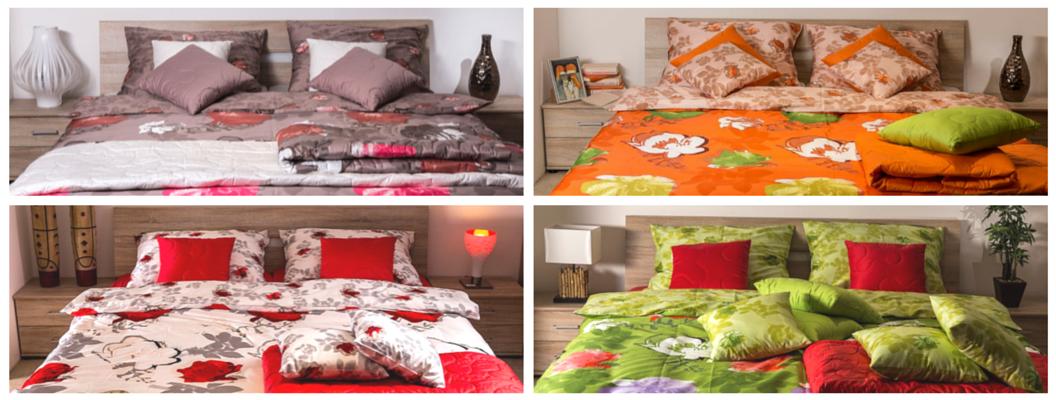 Nova posteljnina Rosa