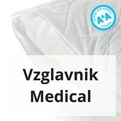 Vzglavnik Medical za alergike in astmatike