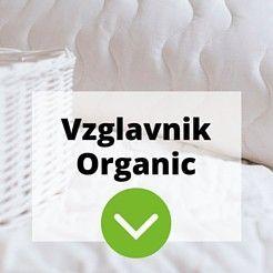 Vzglavnik Organic medium