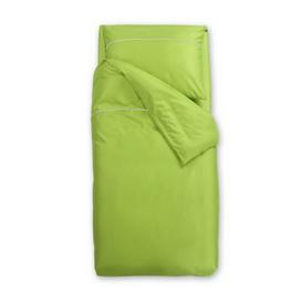 Zelena satenasta posteljnina