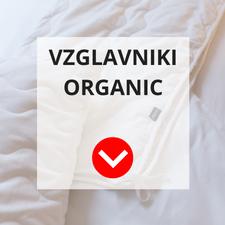 Vzglavniki Organic