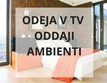 Odeja v TV oddaji Ambienti