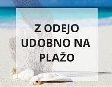 Opremite se z udobjem in barvami na plaži