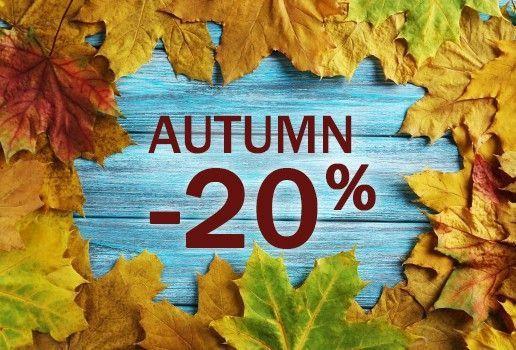 Autumn sale -20 %
